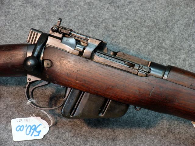 FUCILE ENFIELD N°4 MKI  Long Branch cal. .303 British anno 1944  legni e  ferri in ottime condizioni  brunitura originale c365aa7589f8